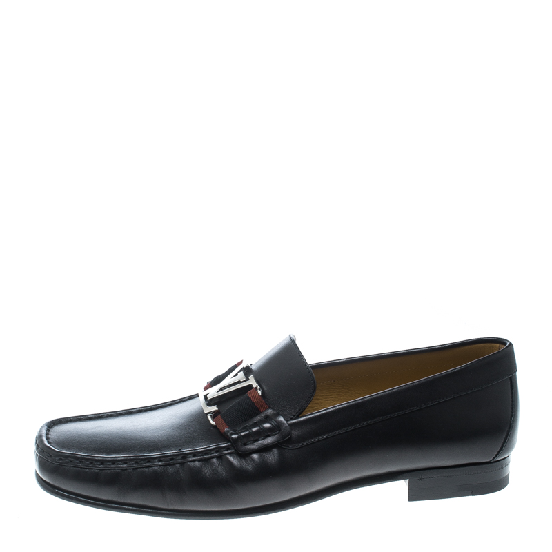 Louis Vuitton Black Leather Montaigne