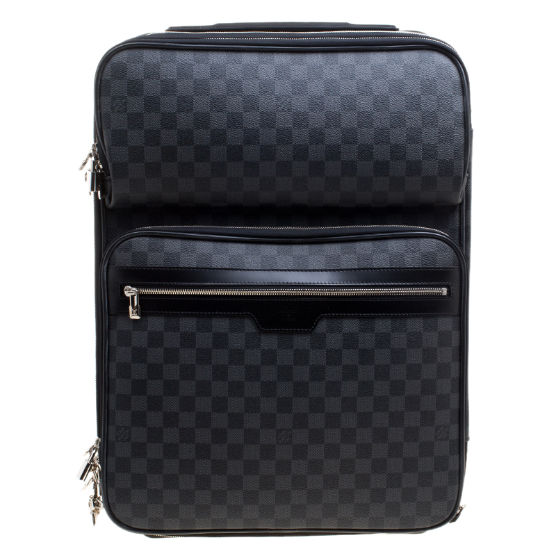 1a418b248d48 ... Louis Vuitton Damier Graphite Canvas Pegase Legere Business Suitcase  55. nextprev. prevnext