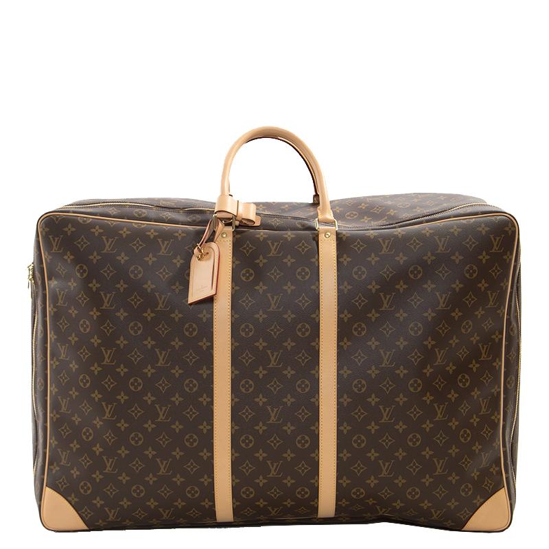 a752ef9bf493 ... Louis Vuitton Monogram Canvas Sirius 70 Soft Sided Suitcase. nextprev.  prevnext