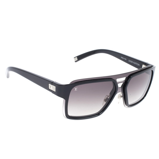0a6303a8a47 Buy Louis Vuitton Black Enigme GM Men Sunglasses 23456 at best price ...