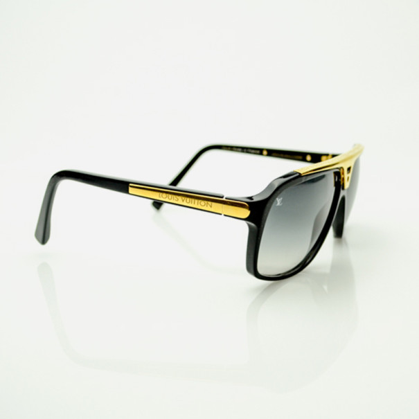 a78c35adc22df Buy Louis Vuitton Black Evidence Sunglasses 33715 at best price