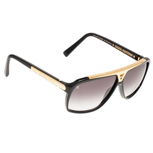 c854ad59fdf Buy Louis Vuitton Black Evidence Square Sunglasses 7825 at best price