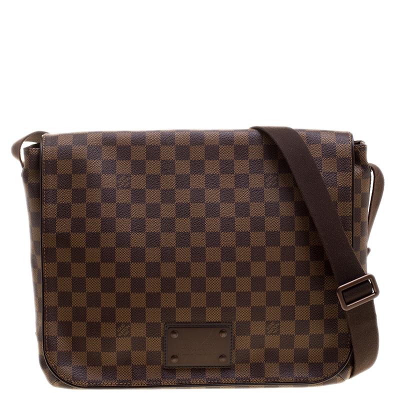 089dfcc3da5a ... Louis Vuitton Damier Ebene Canvas Brooklyn GM Messenger Bag. nextprev.  prevnext