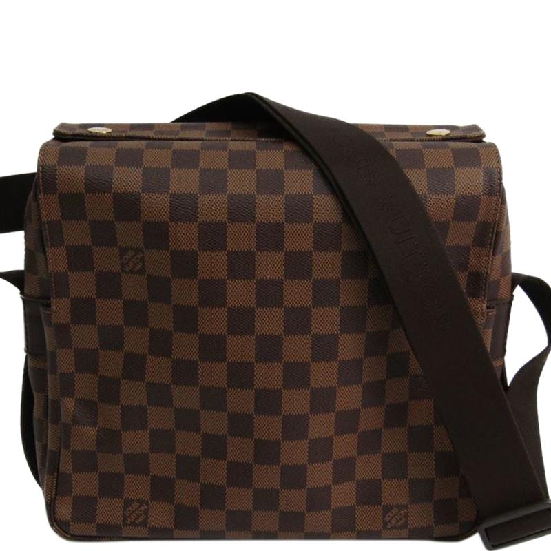 5ecba7cacbda Buy Louis Vuitton Damier Ebene Canvas Naviglio Messenger Bag 136215 ...