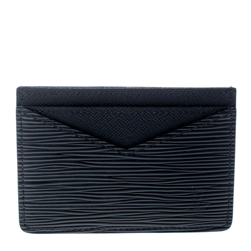 5f1f6564049f ... Louis Vuitton Black Epi Leather Neo Porte Cartes Card Holder. nextprev.  prevnext
