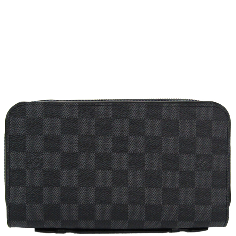 2d67aeab8ffc ... Louis Vuitton Damier Graphite Canvas Zippy XL Wallet. nextprev. prevnext