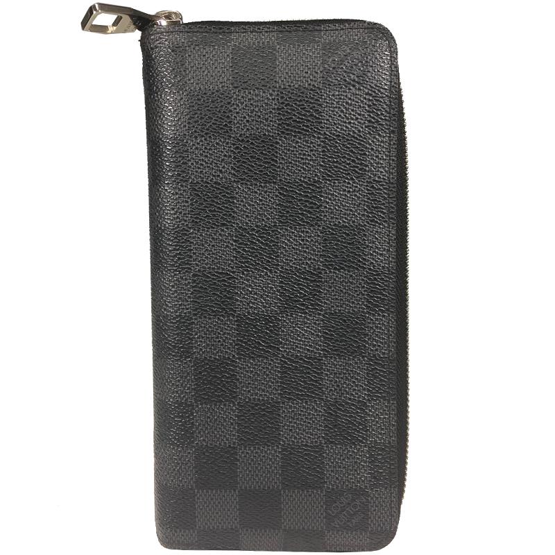 a513bc0e937f ... Louis Vuitton Damier Graphite Canvas Vertical Zippy Wallet. nextprev.  prevnext