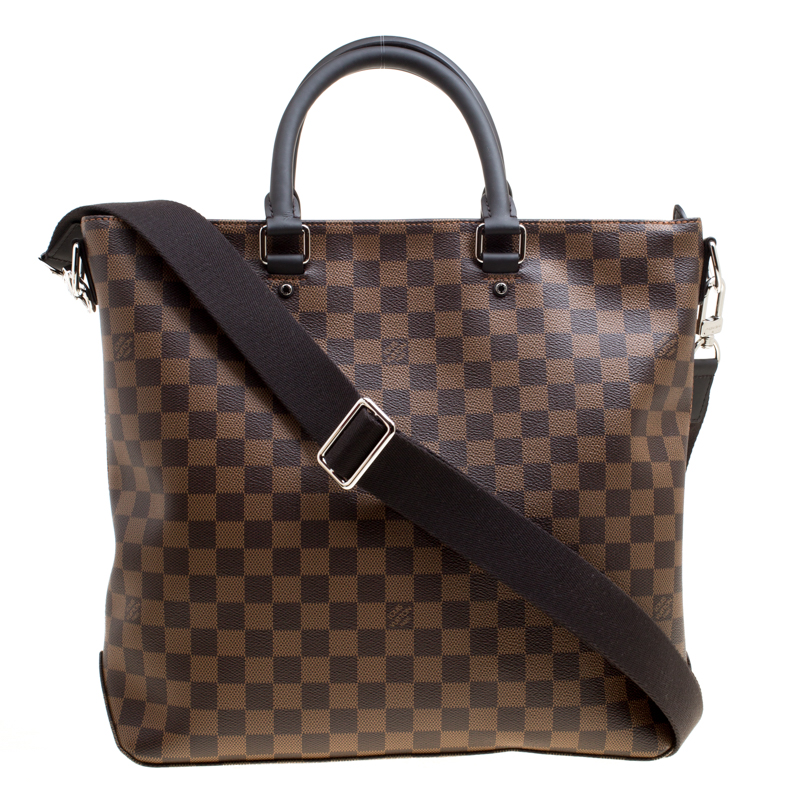 Louis Vuitton Damier Ebene Canvas Jake Bag