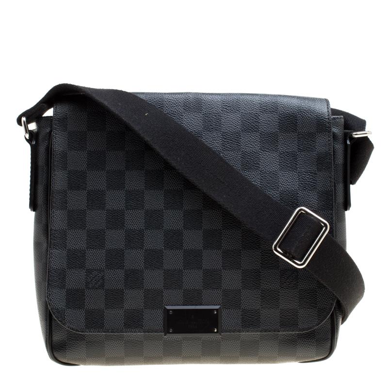 d42a4b704d48 ... Louis Vuitton Damier Graphite Canvas District PM Bag. nextprev. prevnext
