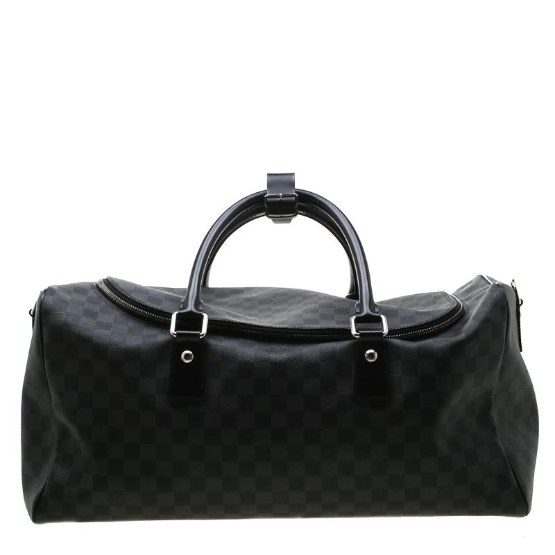 b1c107be7 ... Louis Vuitton Damier Graphite Canvas Roadster Duffel Bag. nextprev.  prevnext