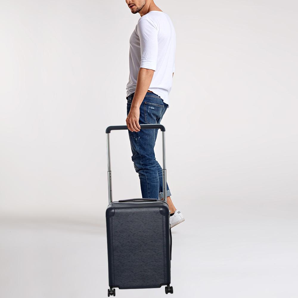 Louis Vuitton Blue Marine Epi Leather Horizon 50 Suitcase