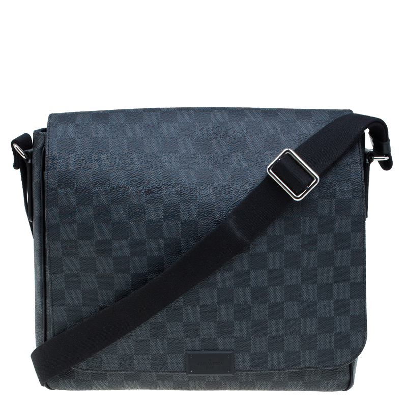 641c418244ec ... Louis Vuitton Damier Graphite Canvas District MM Bag. nextprev. prevnext