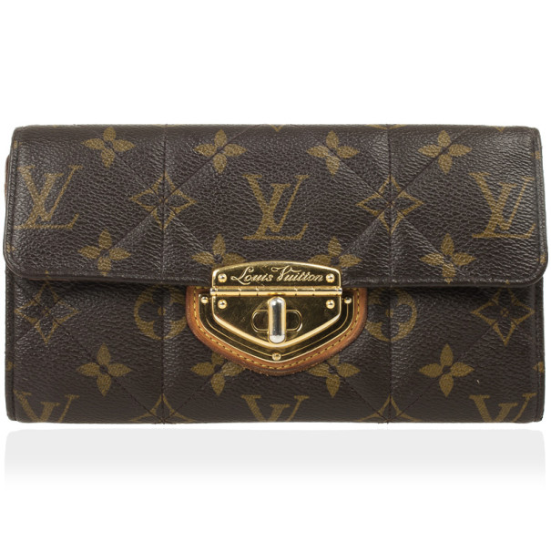 32255aa6bdc5 Buy Louis Vuitton Monogram Canvas Etoile Sarah Wallet 26298 at best ...