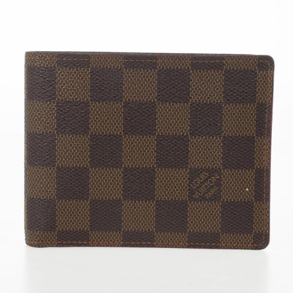cc3e397295e2 Buy Louis Vuitton Damier Ebene Florin Wallet 25268 at best price