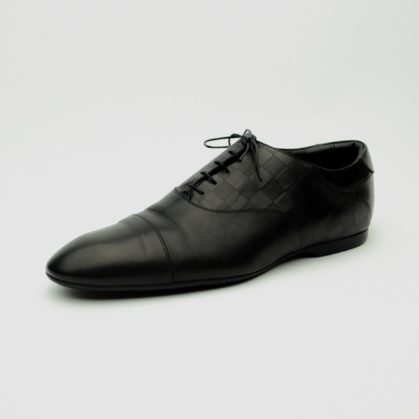 Louis Vuitton Black Glazed Calf Leather