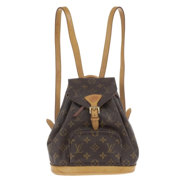 cbf6bf8732f9 Buy Louis Vuitton Monogram Canvas Mini Montsouris Backpack 14529 at best  price