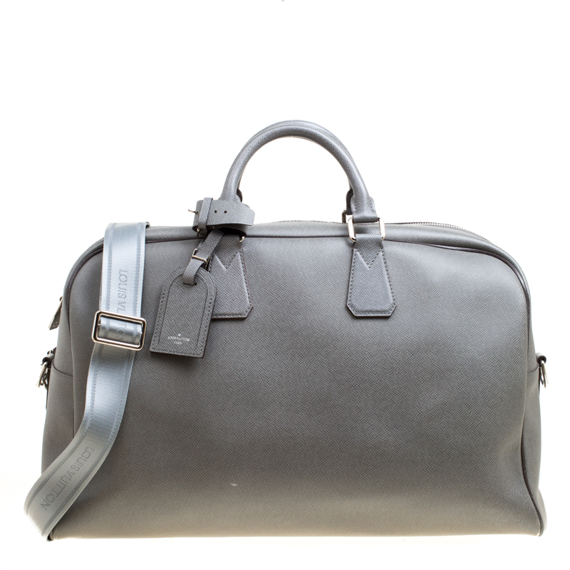 Buy Louis Vuitton Grey Taiga Leather Neo Kendall Travel Bag 162626