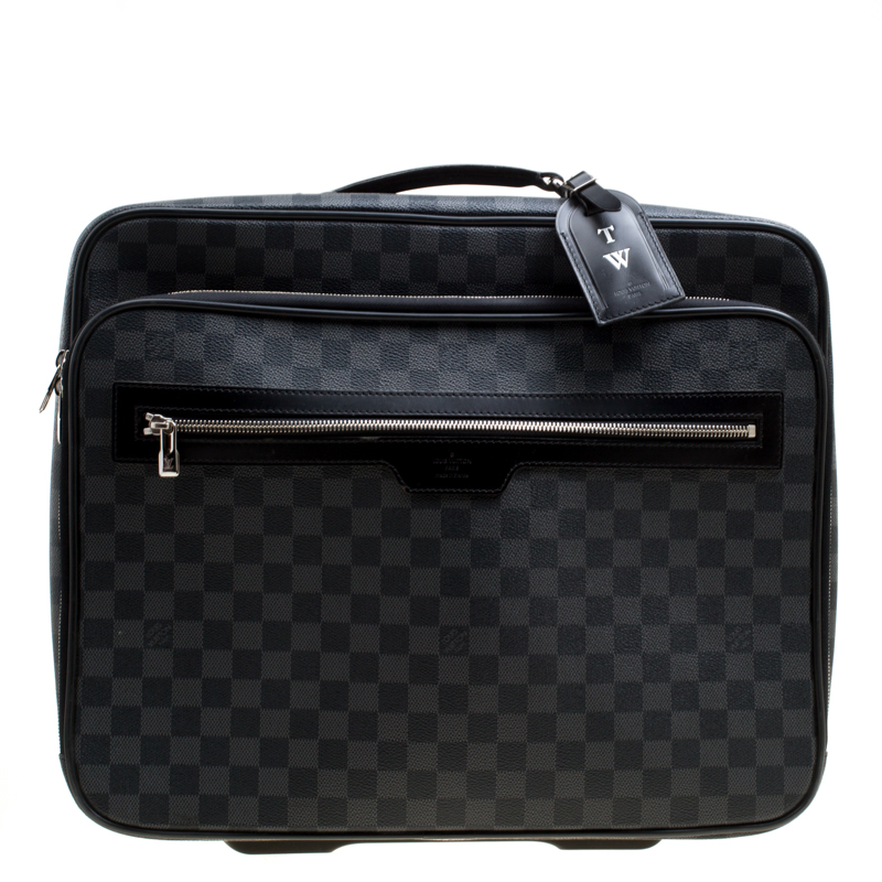 cf3af70c8989 ... Louis Vuitton Damier Graphite Canvas Pilot Case Luggage. nextprev.  prevnext