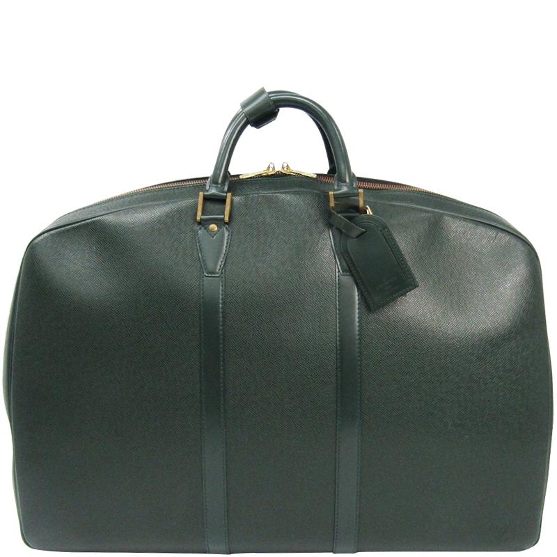 Louis Vuitton Epicea Taiga Leather Helanga 1 Poche Travel Bag