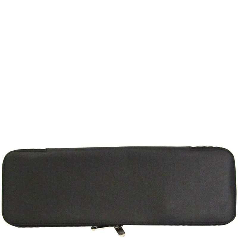 on sale 05a21 f9dd5 Louis Vuitton Ardoise Taiga Leather 5 Tie Case