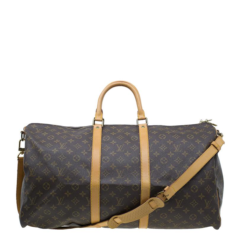 29930c7d7524 ... Louis Vuitton Monogram Canvas Keepall 55 With Shoulder Strap. nextprev.  prevnext