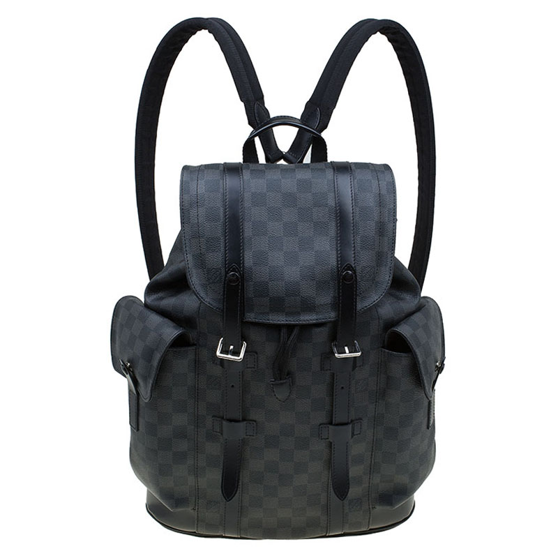 Buy Louis Vuitton Damier Graphite Canvas Christopher PM Backpack 84810 at  best price  359b608f3b0e1