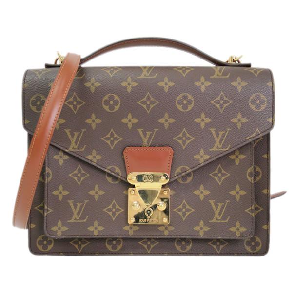 49fa13356449 Buy Louis Vuitton Monogram Canvas Monceau Bag 9409 at best price