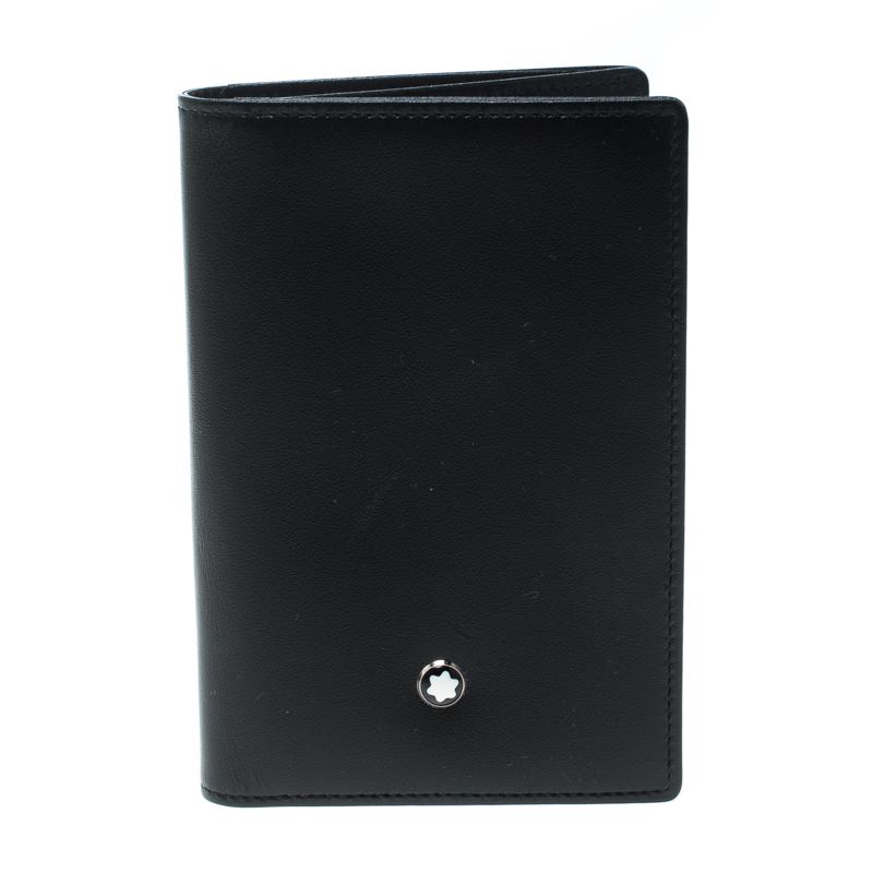 Фото #1: Montblanc Black Leather Meisterstuck Card Holder