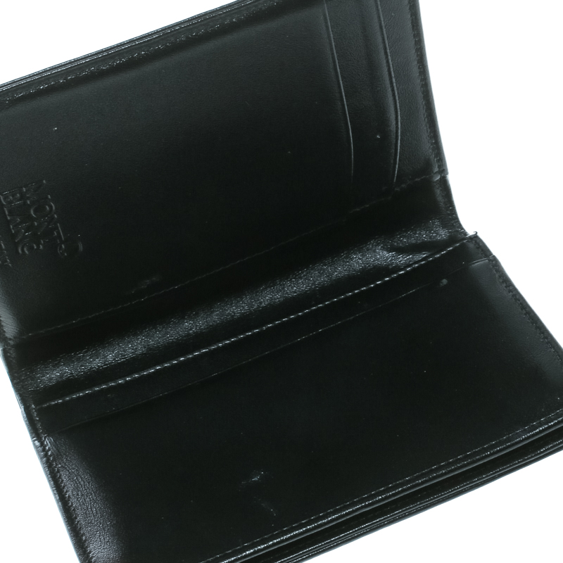 Montblanc Nero Pelle Business Card Holder