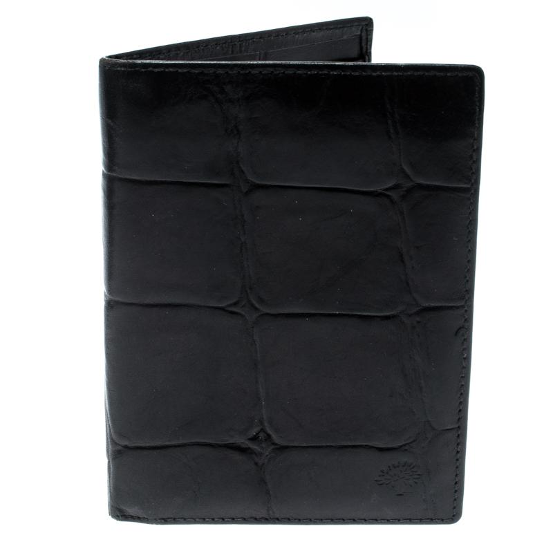 c481f23877 ... Mulberry Black Croc Embossed Leather Bifold Wallet. nextprev. prevnext