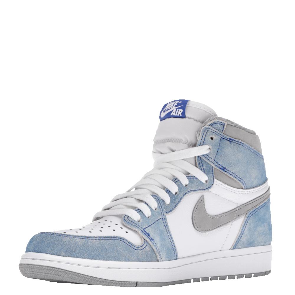 Nike Jordan 1 Hyper Royal Sneakers Size US 7.5 (EU 40.5), Multicolor  - buy with discount
