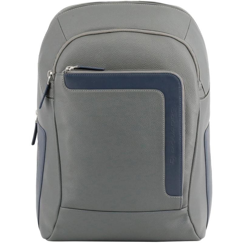 Купить со скидкой Piquadro Two Tone Leather Backpack