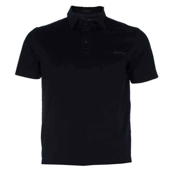 72066ad9d ... cheap black cotton polo shirt l. nextprev. prevnext ba590 88d75