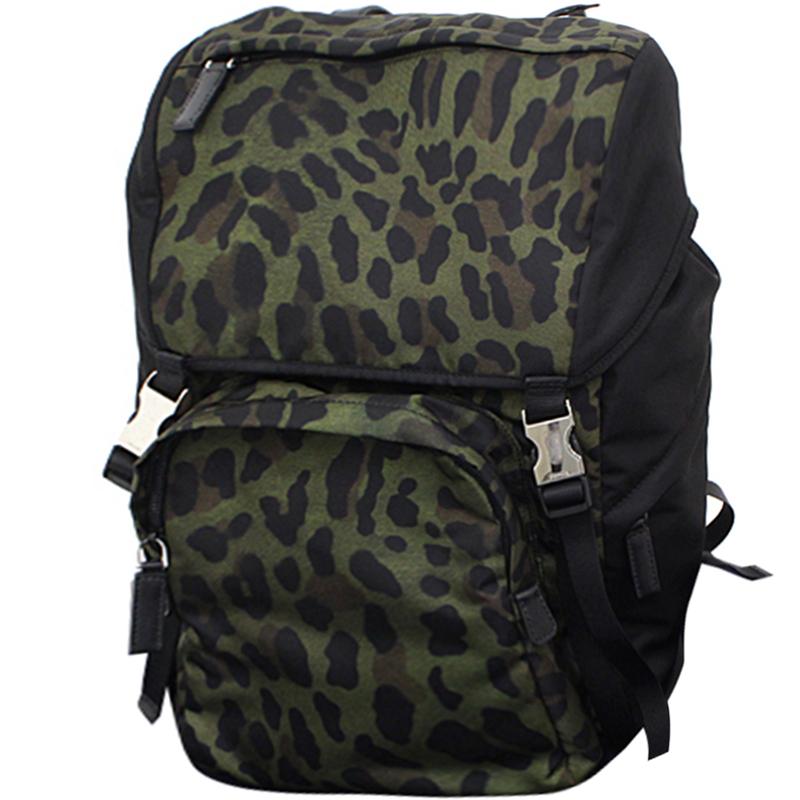 0c8d907fb3c1 greece buy prada green black tessuto nylon backpack 169136 at best price  tlc f3af6 d1266