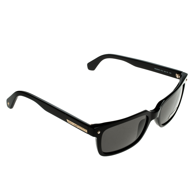67d27c601ae Buy Roberto Cavalli Black 834S Square Sunglasses 129362 at best price