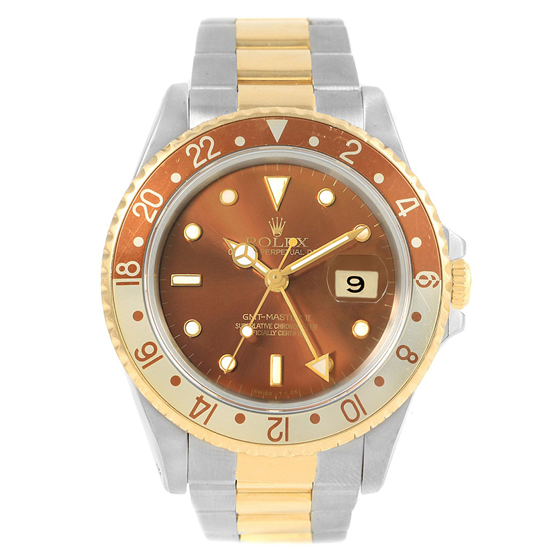 Buy Rolex Bronze 18k Yellow Gold And Stainless Steel Gmt Master Ii