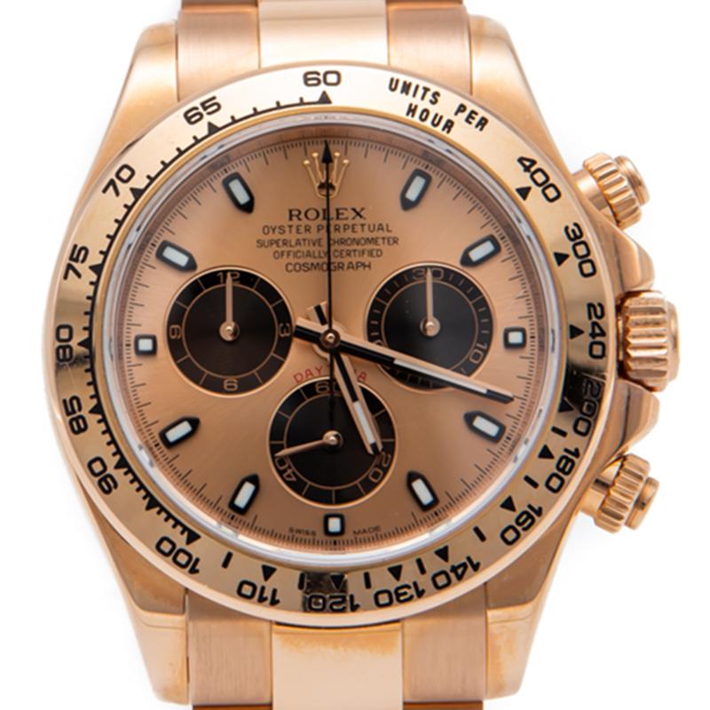 Used Rolex Daytona >> Rolex Rose Gold Cosmograph Daytona Watch 40mm