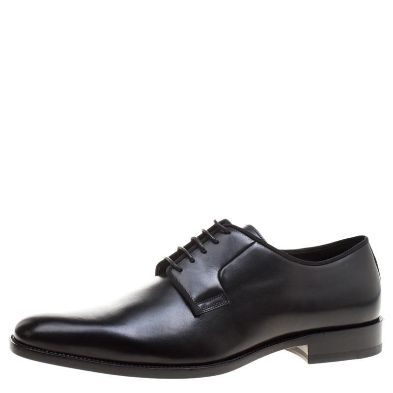 16619ce28a0 ... Saint Laurent Paris Black Leather Lace Up Derby Size 45. nextprev.  prevnext
