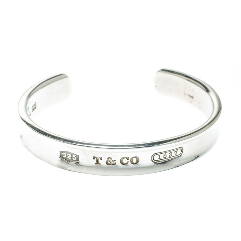 b11692fb042b9 Tiffany & Co. 1837 Silver Open Cuff Bracelet