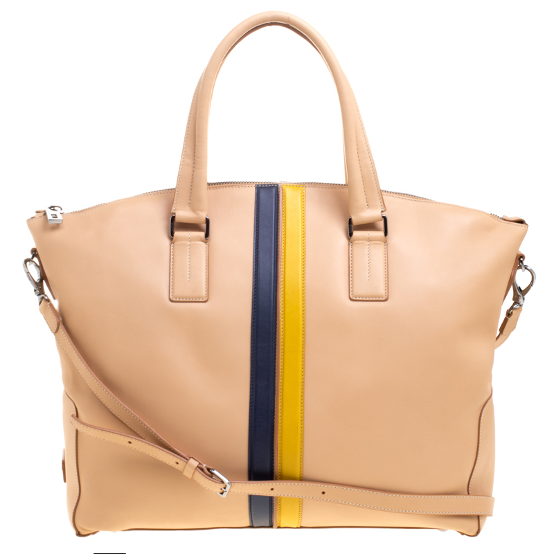 1f553d04b6 Buy Tod's Beige Leather Large Shopping Tote 107955 at best price | TLC