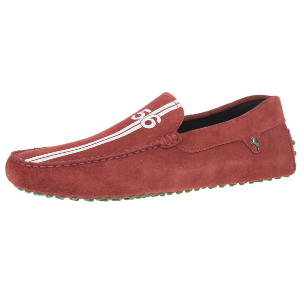 1c8879aa405b1 Buy Tod's for Ferrari Red Suede No.56 Limited Edition Gommino ...