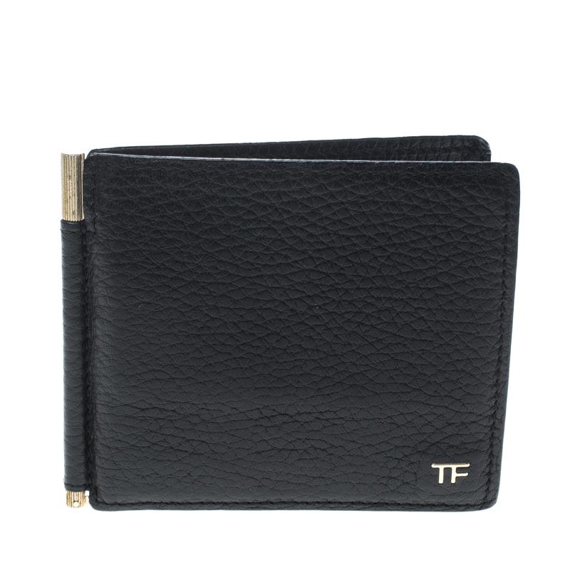 Tom Ford Black Leather Alix Fold Over Bag Tom Ford Tlc