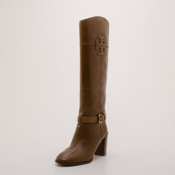 b06937a72ef1 Buy Tory Burch Blaire Mid-Heel Boots Size 37 37329 at best price