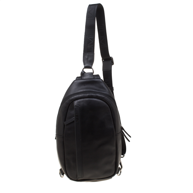 d1e0acdc0 Buy Tumi Black Leather Murano Sling Backpack 181715 at best price | TLC