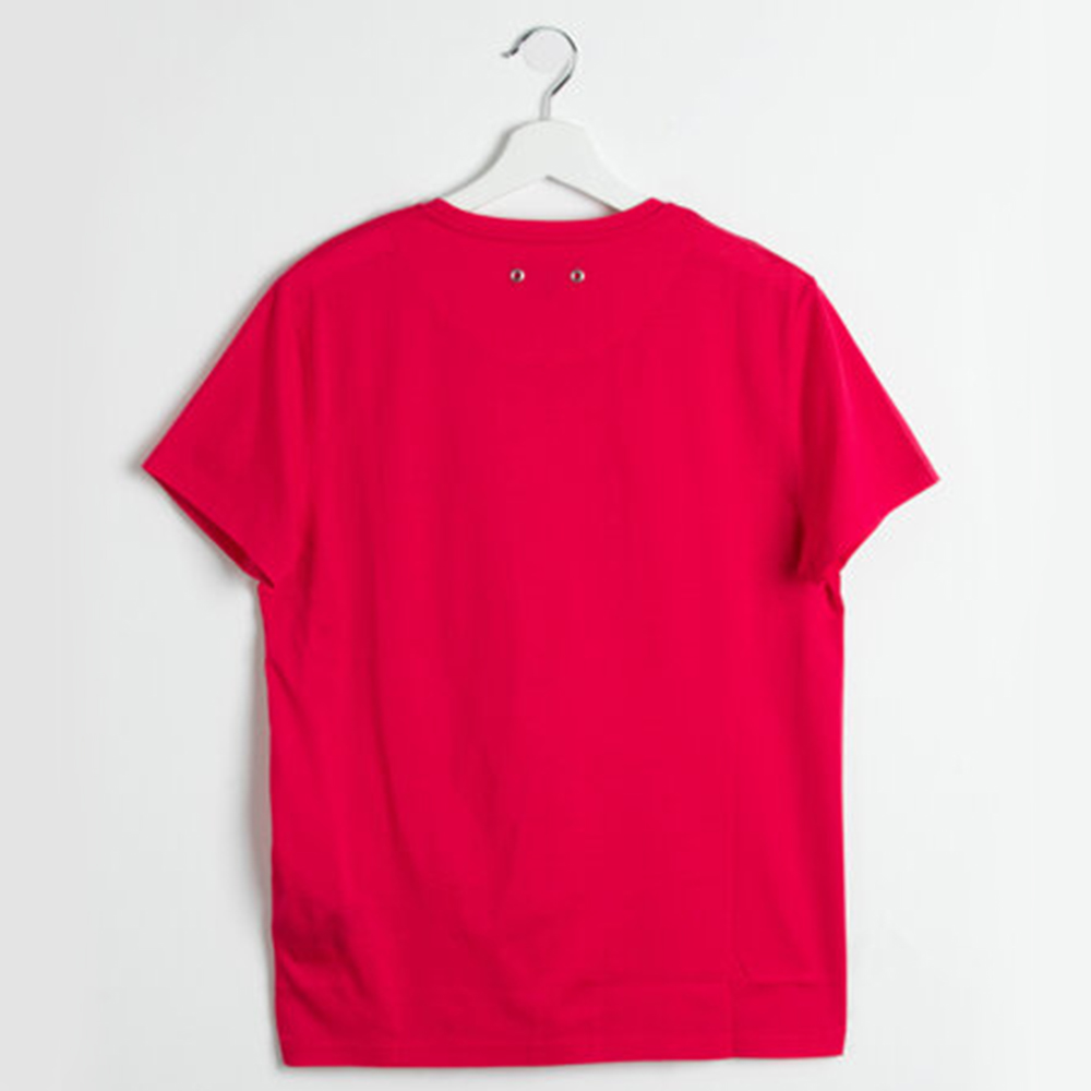 Vilebrequin Red Tender V-neck Jersey T-shirt S (Available for UAE Customers Only)