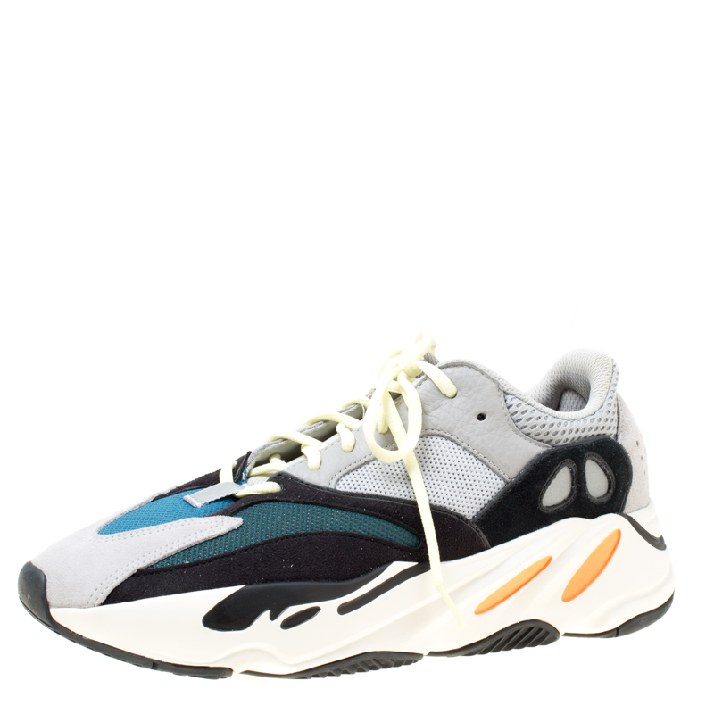 356d9cd6f ... Yeezy x Adidas Multicolor Mix Media Boost 700 Wave Runner Sneakers Size  45.5. nextprev. prevnext