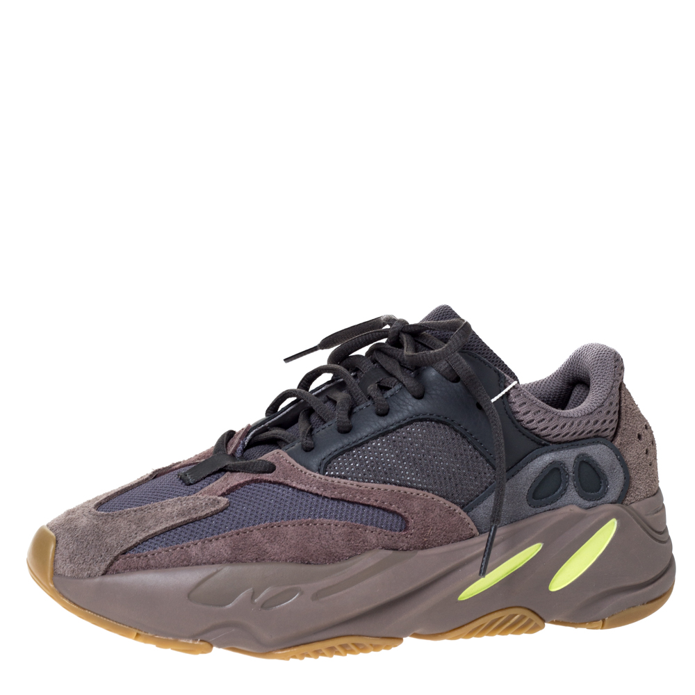 Yeezy x Adidas Grey Mix Media Yeezy 700 Mauve Sneakers Size 40
