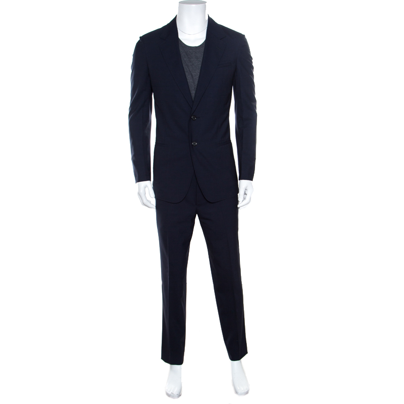 7c8f32a8906 ... Yves Saint Laurent Navy Blue Wool Tailored Suit M. nextprev. prevnext