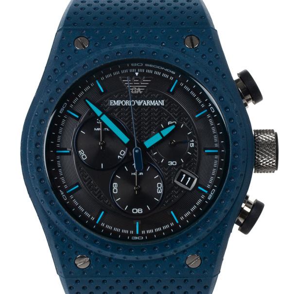 ab7915050 إشتري Emporio Armani Black Stainless Steel AR6119 Men's Wristwatch 44MM  15597 بأفضل الاسعار | ذا لاكشري كلوزيت