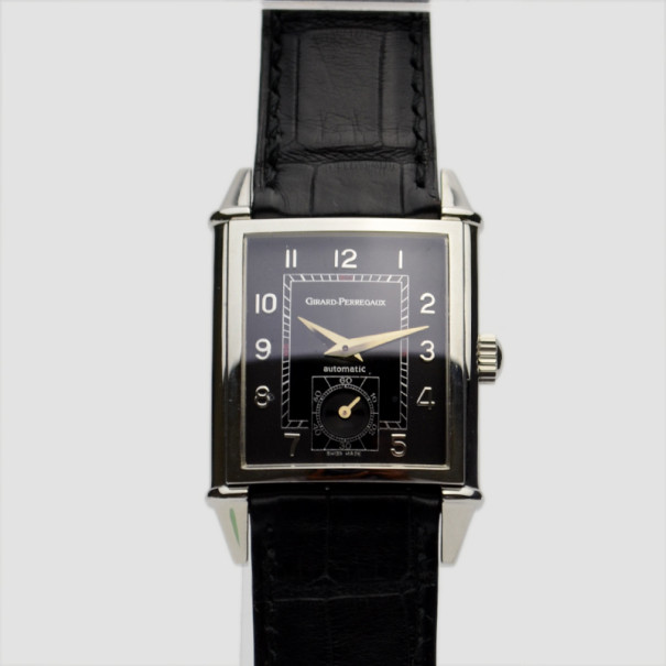 Girard Perregaux Vintage 1945 SS Mens Wristwatch 30 MM
